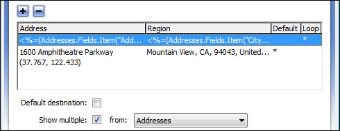 Step 2: Enter addresses or coordinates to map Show Multiple Addresses On A Map on countries on a map, shipping on a map, name on a map,